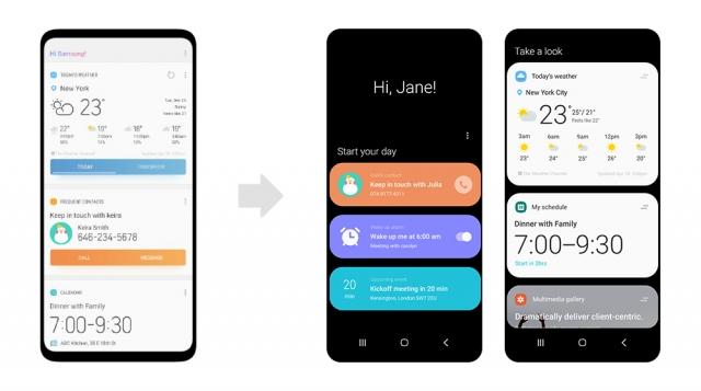 Новий та зручний інтерфейс Samsung One UI изображение