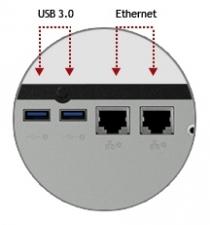 Полноценное сетевое хранилище WD Sentinel DX4000
