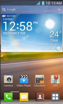 Стильный смартфон LG Optimus L5 выходит на мировой рынок