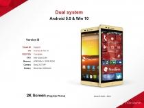 Elephone выпустит смартфон с двумя операционными системами: Android 5.0 и Windows 10
