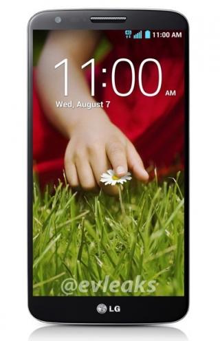 Официальные фото LG G2 появились в сети до официальной презентации