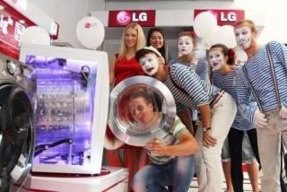 Турне LG завершилось выставкой в Днепропетровске
