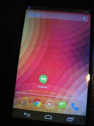 Фото устройства на Android 4.4 KitKat продемонстрировали несколько меню телефона