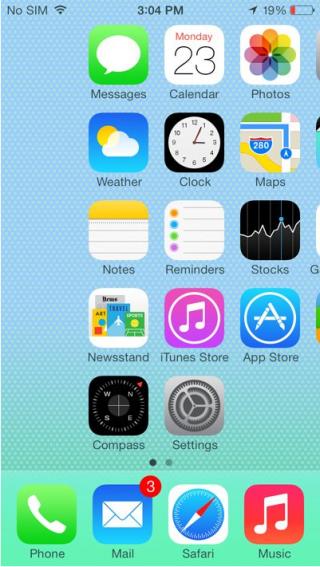 iOS 7: 12 недостатков