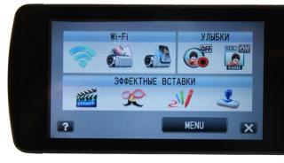 JVC Everio GZ-EX215: семейная видеокамера с модулем Wi-Fi