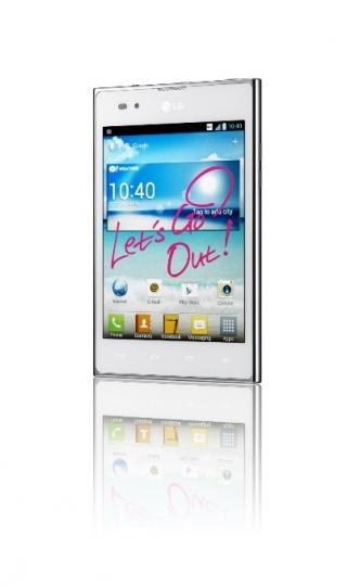 LG запускает Optimus Vu в большое плавание