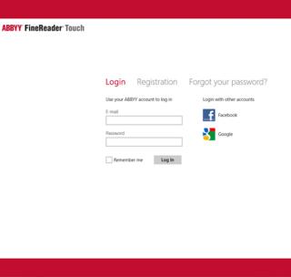 Вышла бета-версия онлайн-приложения ABBYY FineReader Touch для Microsoft Windows 8