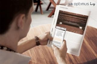 Анонсирован LG Optimus L9 - вожак стаи стильных L-смартфонов
