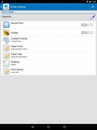 Новый плагин Xerox Print Service для мобильных устройств на Android