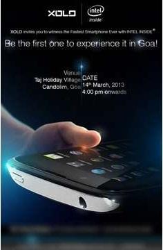 В XOLO обещают показать самый быстрый смартфон