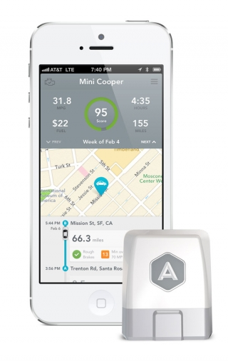 iPhone расскажет о вашем авто с помощью Automatic