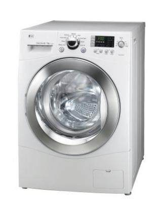 Компактная стиральная машина LG Direct Drive может сушить белье