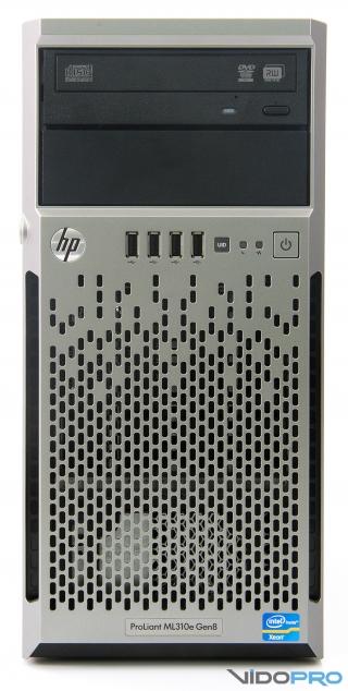 Обзор башенного сервера HP ProLiant ML310e G8