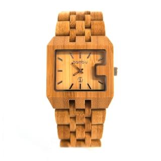 Часы Bamb-u, сделанные из бамбука (видео)