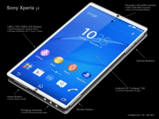 "Смартфон моей мечты: суперкомпактный Sony Xperia Micro с 4"" дисплеем"