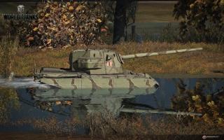 Британские танки наступают