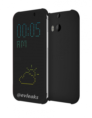 Новые чехлы HTC для One M8 превратят смартфон в Lite-Brite