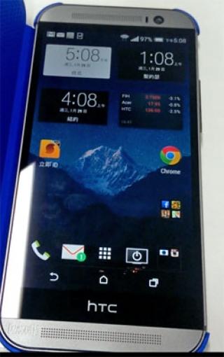 Первое фото нового флагмана HTC M8