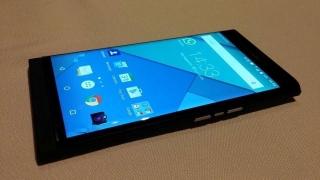 BlackBerry на Android снова засветился в сети