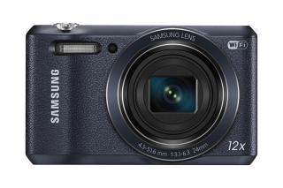 Компактная SMART-камера Samsung WB35F с длиннофокусным объективом