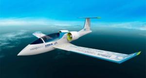 Airbus представила новый полностью электрический прототип воздушного суда