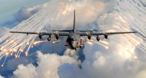 Погляд зсередини на літаючу артбатарею AC-130