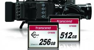 Карты памяти Transcend CFX650/600 для записи UHD-видео с разрешением 4K