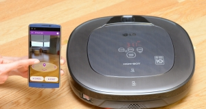 Новый пылесос LG CordZero с технологией дополненной реальности