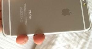 """Первое фото 4.7"""" Apple iPhone 6 со включенным дисплеем"""