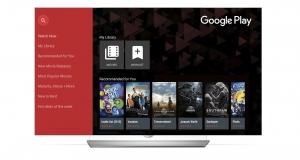LG Smart TV будут поддерживать приложение Google Play Movies & TV