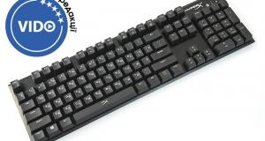 Огляд геймерської клавіатури HyperX Alloy FPS: вузькоспеціалізований профі