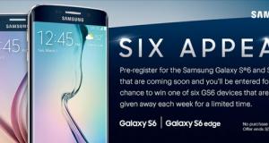 Официальный вид Galaxy S6 и S6 Edge