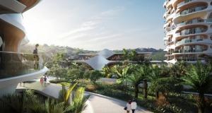 Проект житлового комплексу з підвісними доріжками від архітектурного бюро Захи Хадід