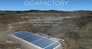 Полет беспилотника над Tesla Gigafactory. Насколько же большой этот завод?