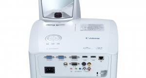 Ультракороткофокусные мультимедийные проекторы Canon