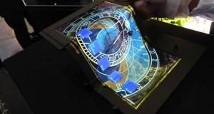 """SEL представила 8.7"""" ультрагибкий OLED-дисплей"""