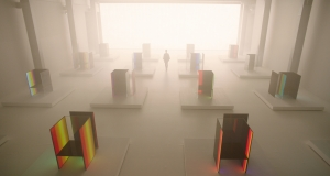 Масштабная световая инсталляция S.F._Senses of the Future от LG