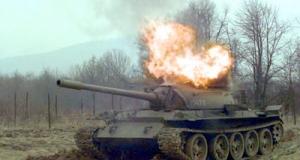 Как одна ракета TOW превратила танк T-72 в гору щепок