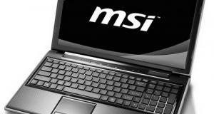 Новые ноутбуки MSI FX620DX и FX420