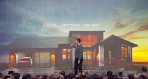 Ілон Маск представив «сонячний дах»