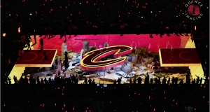 3D-проекция на матче финала НБА