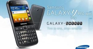 Samsung готовится выпустить Galaxy Y Pro Duos на 2 SIM карты.