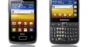Samsung анонсировала GALAXY Y DUOS и GALAXY Y Pro DUOS.
