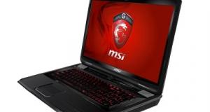 MSI представила новый игровой ноутбук GT780DX.