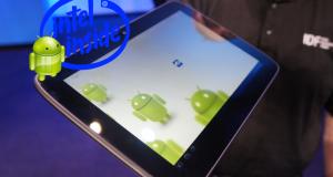 В процессорах Intel Medfield будет аппаратная оптимизация под  Android.