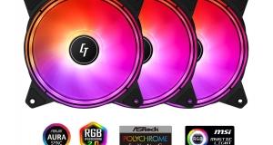 Набір RGB-вентиляторів CHIEFTEC Chieftronic NOVA NF-3012-RGB Set
