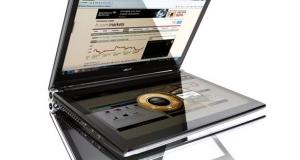 Acer ICONIA: большая книга с сенсорными экранами или ноутбук с двумя сенсорными экранами