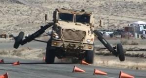 Армия США устанавливает электронный контроль устойчивости на бронемашины класса MRAP