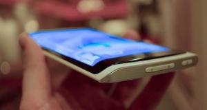 Первое фото Galaxy Note 4 показало наличие трехстороннего дисплея