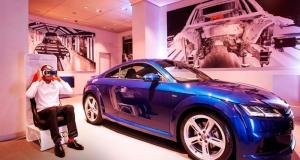 Audi предлагает пройти тест-драйв TT с помощью шлема виртуальной реальности Samsung Gear